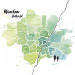 Stadtplan München, Stadtviertel