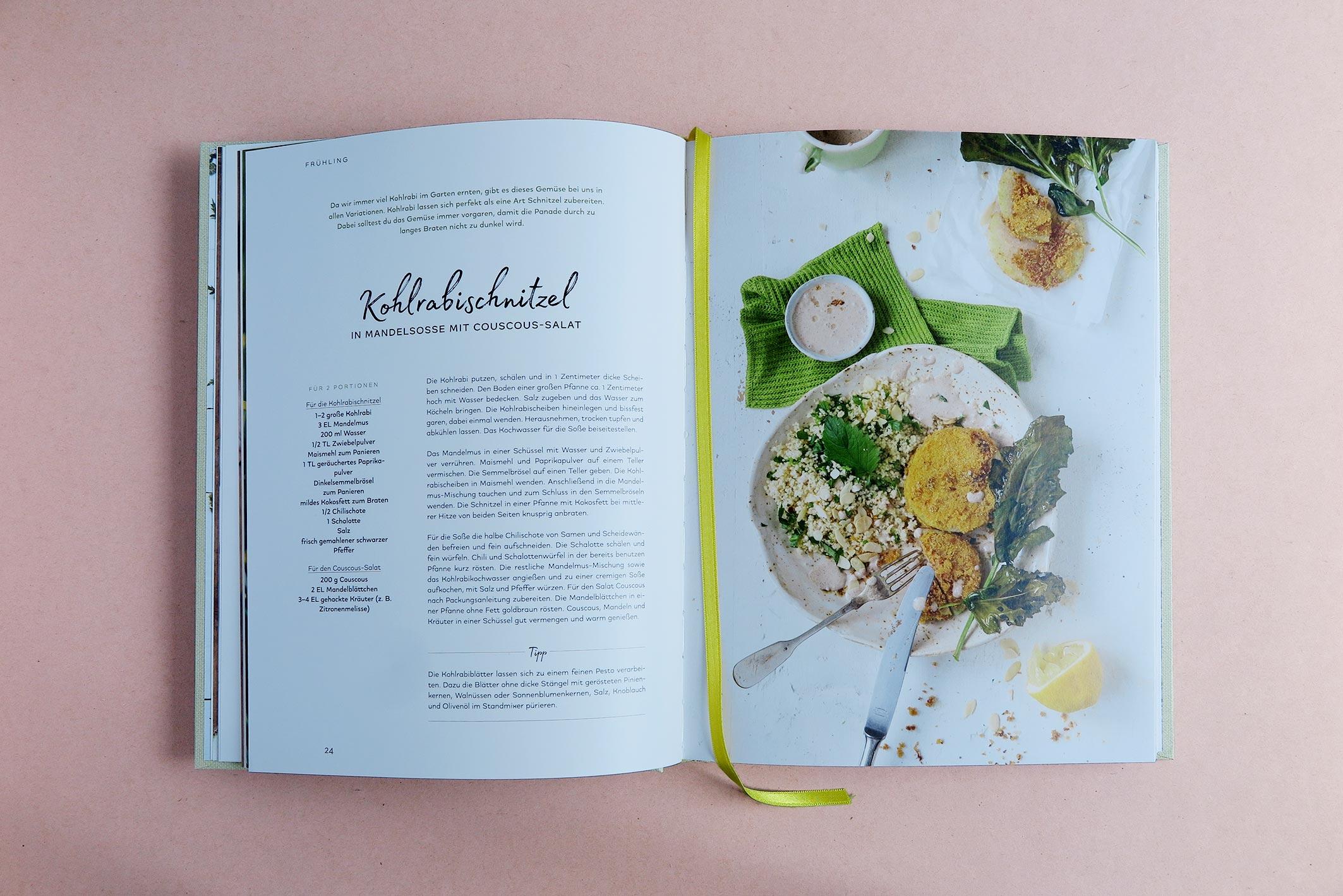 """Rezeptseite aus """"My little green kitchen"""""""