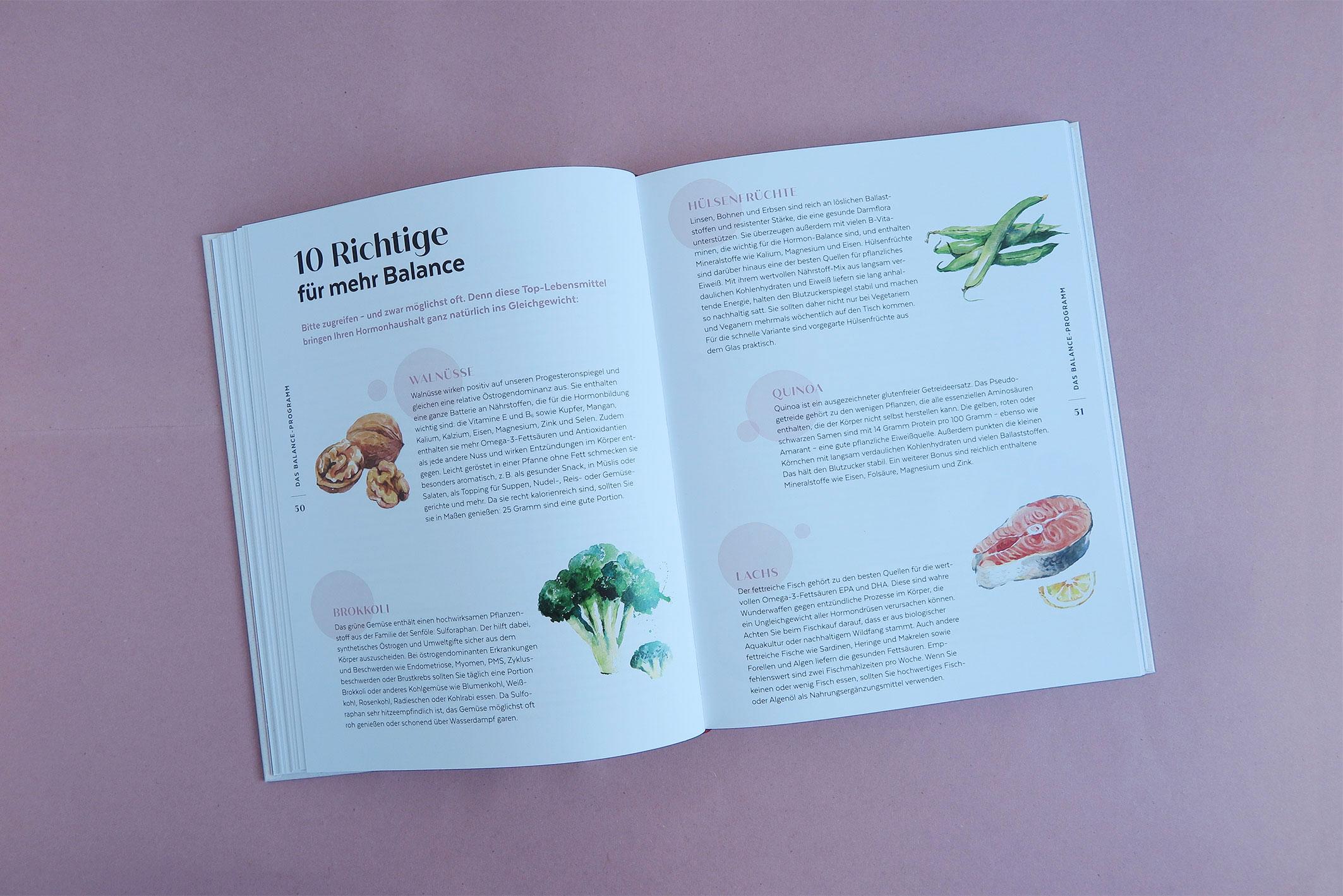 """Sonderseite Lebensmittel """"Die Hormon-Balance-Diät"""""""